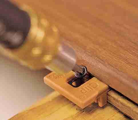 Hidden decking fastener