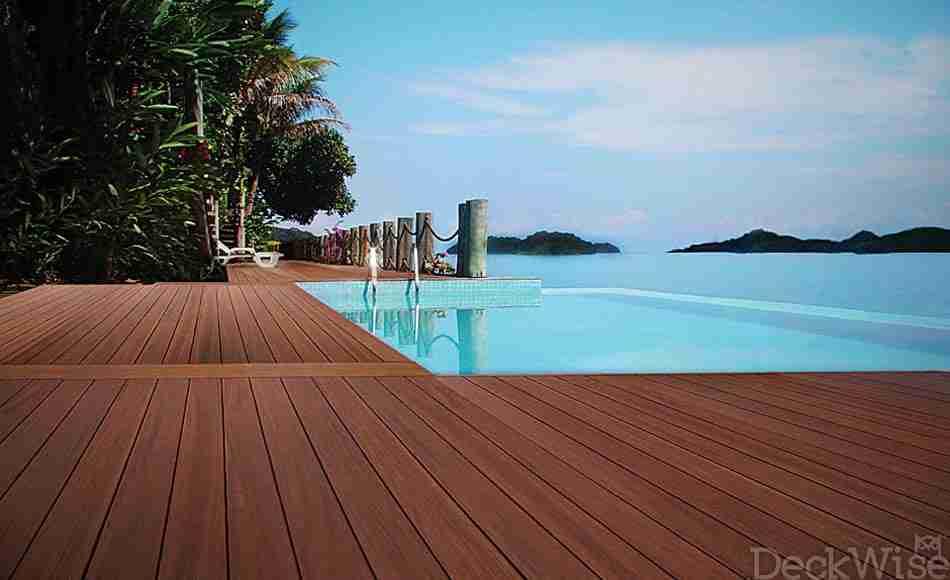 Ipe Infinity Pool Deck