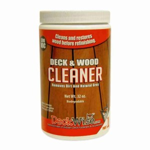 DeckWise Deck and Wood Cleaner Part 1 32oz