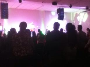 A pic from the service we attended in Maringa during our visit