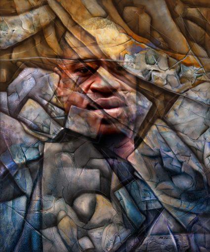 George Floyd .png scaled Artista brasileira presta tributo a George Floyd