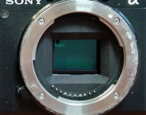 Sony photo camera DSLR repair