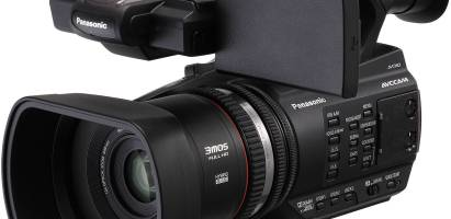 Panasonic AG-AC90 camera hire £60
