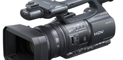 Sony HDR-FX1000 camera hire £50