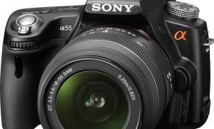 Repair of Sony SLT-A55L