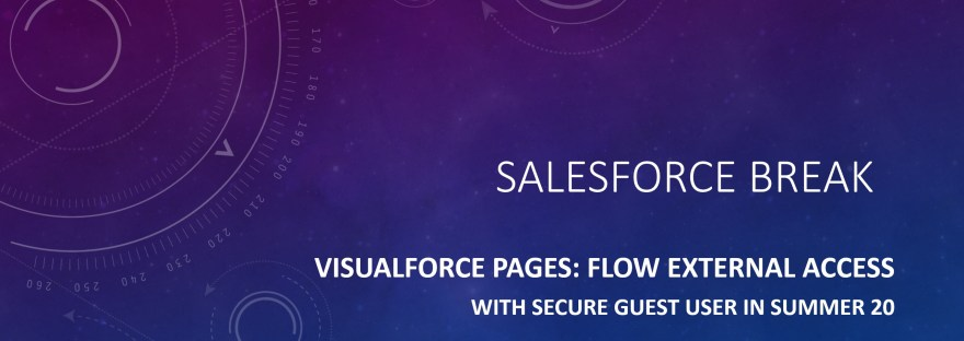 Salesforce Flow with Guest User