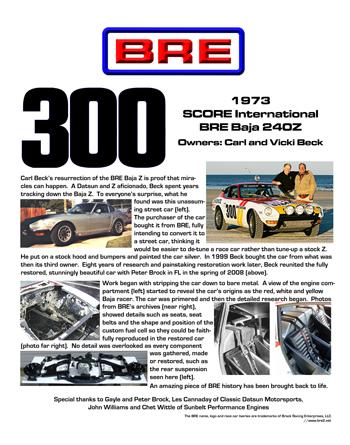 BRE at the Mitty 2010 | Brock Racing Enterprises