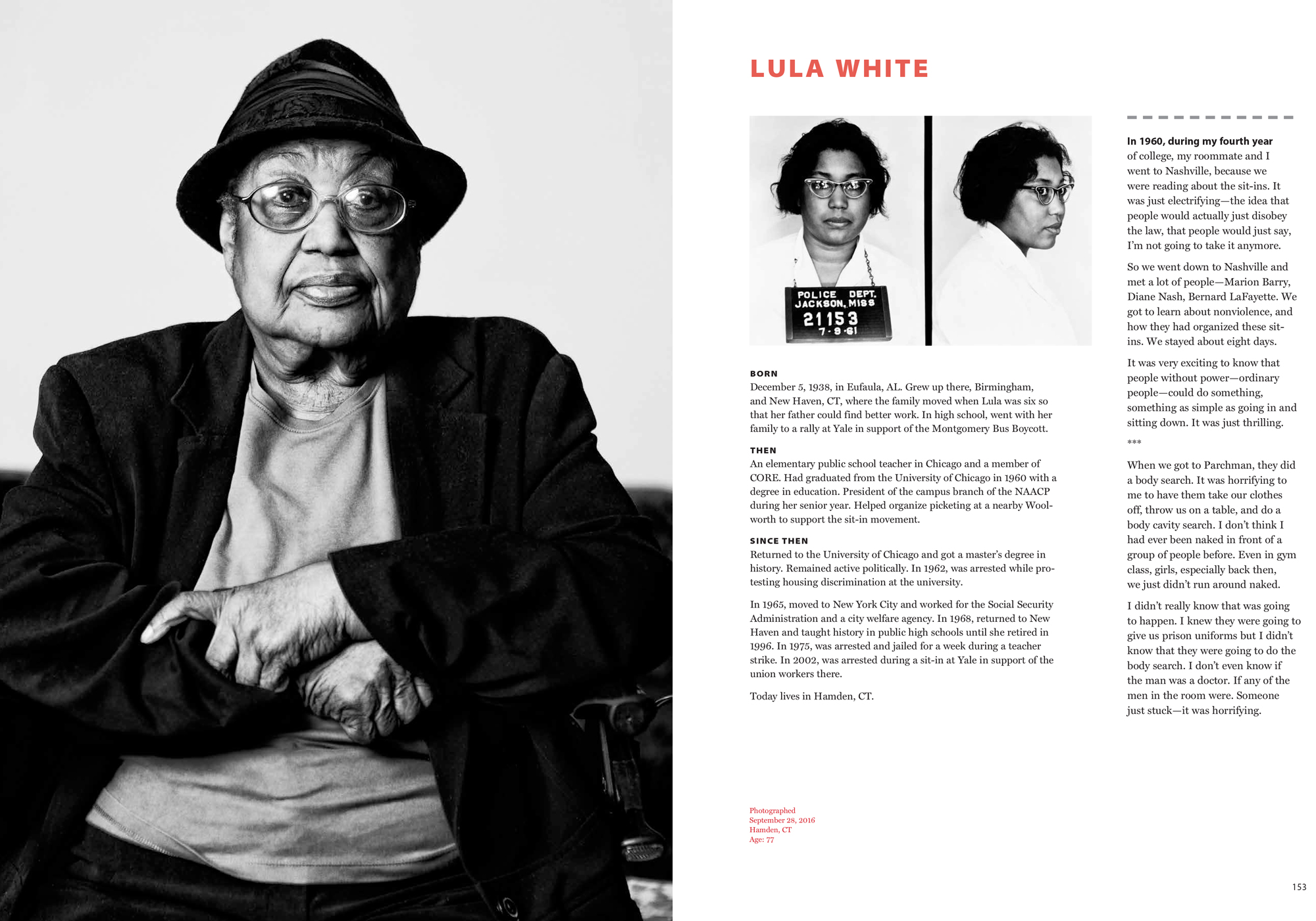 I almost found Lula White the first time around. I was pretty sure she was  living in or near New Haven d2b971a2c