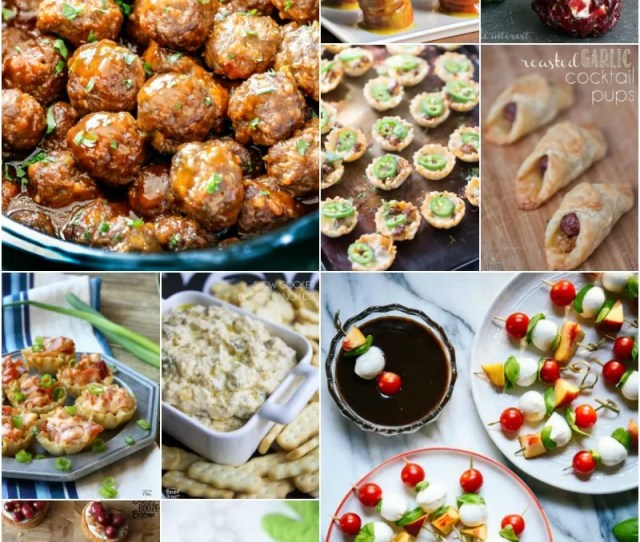 Get Ready To Get The Party Started With  Of The Best Party Appetizers All