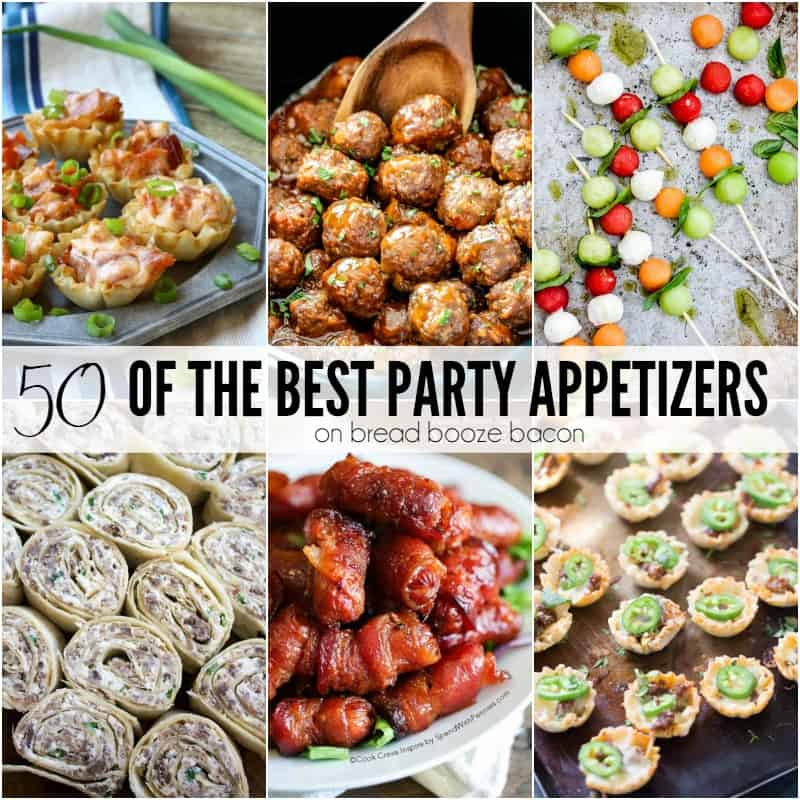 50 of the Best Party Appetizers  Bread Booze Bacon