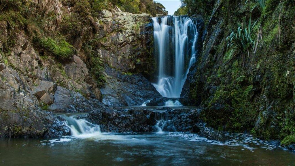 Waterfalls in New Zealand