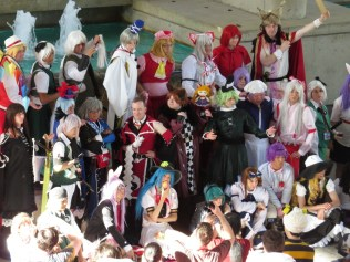 All the Touhou cosplayers are dudes