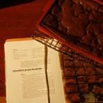 Chocolate prune brownie