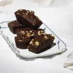 Gluten free hazelnut & chocolate friand