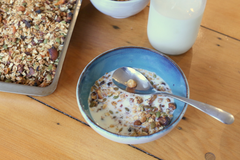 muesli homemade