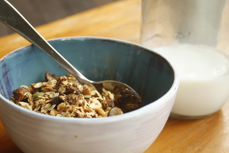 Figs and nuts Toasted Muesli