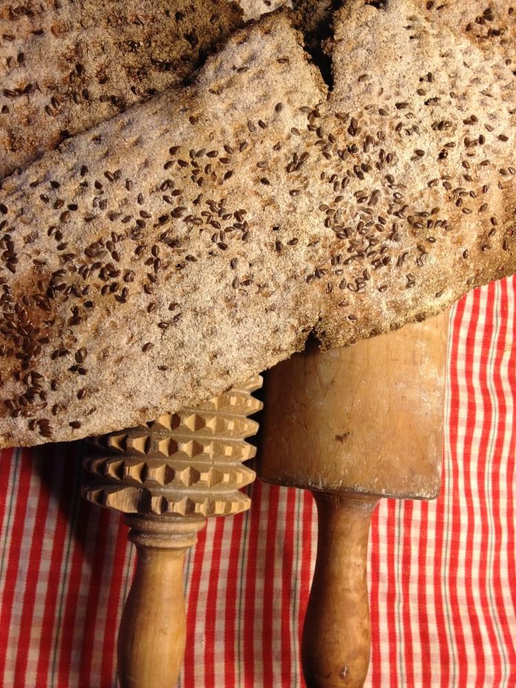 Knäckebröd med råg och dinkel (2/2)
