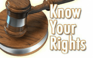 know your right