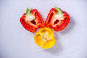 bell peppers for vegan chilli
