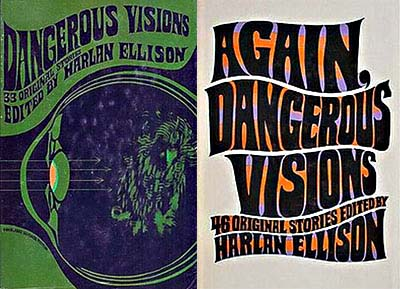 Dangerous Visions, Original Covers