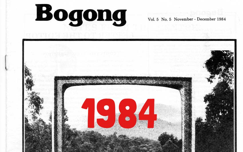 Featured image, Bogong Magazine 1984