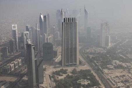 From the Burj Khalifa, Dubai