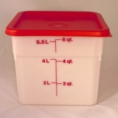 Wholesale Kitchen Decorated Kitchens Dough And Storage Bucket Lid – 6 Qt. | Breadtopia