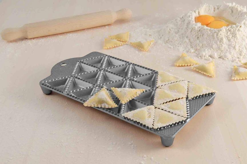 kitchen equipment for sale metal outdoor cabinets eppicotispai 24 hole triangle ravioli maker | breadtopia