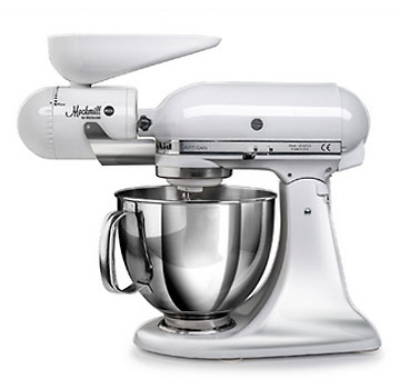 kitchen aid mixers on sale types of flooring pros and cons mockmill grain mill attachment for stand | breadtopia