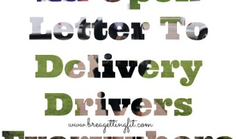 Dear Fed Ex: An Open Letter From A Sleep Deprived Mom