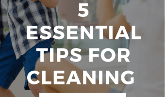 5 Tips for Cleaning With Toddlers