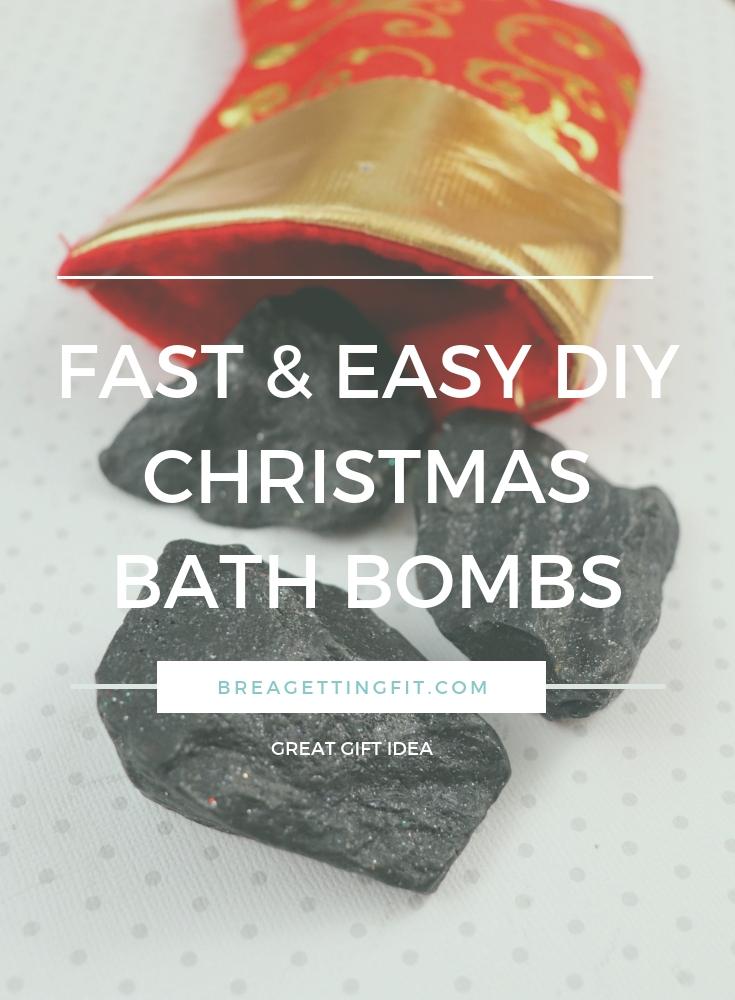 DIY Christmas Bath Bomb Recipes