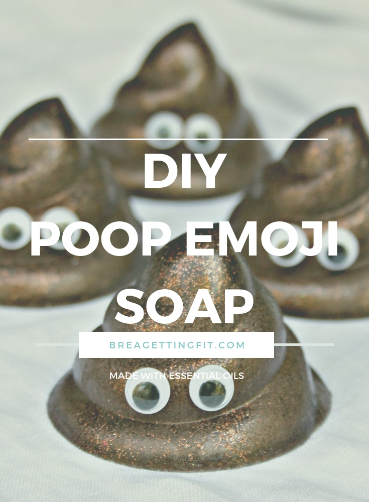 DIY Poop Emoji Soap