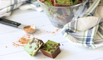 Easy Paleo Double Layer Fudge