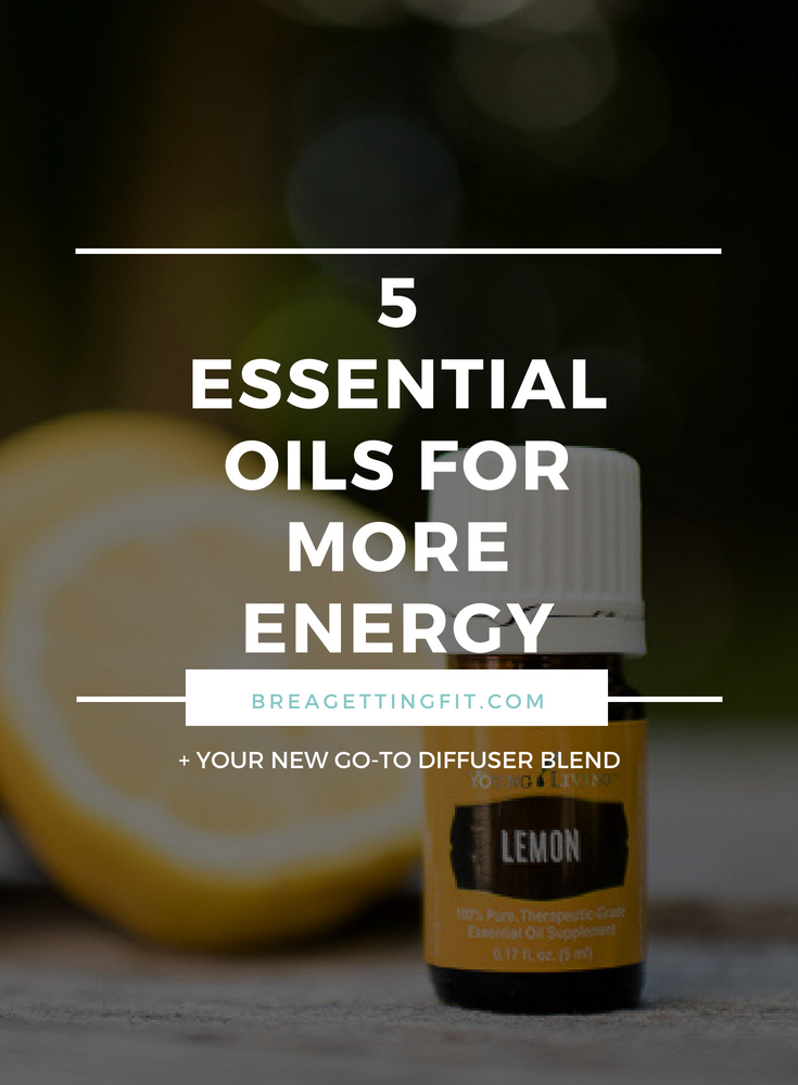 Essential Oils to Increase Energy