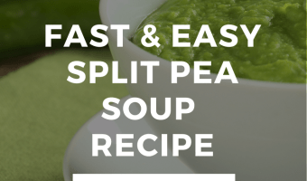 Fast & Easy Split Pea Soup