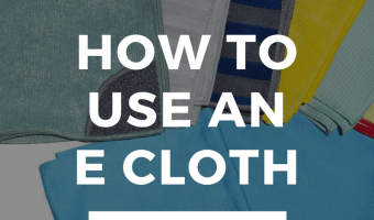 How Do You Use An e Cloth?