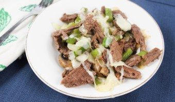 Low Carb Philly Cheese Steak Bowl