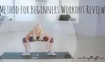 Tracy Anderson FINALLY came out with a beginner workout!