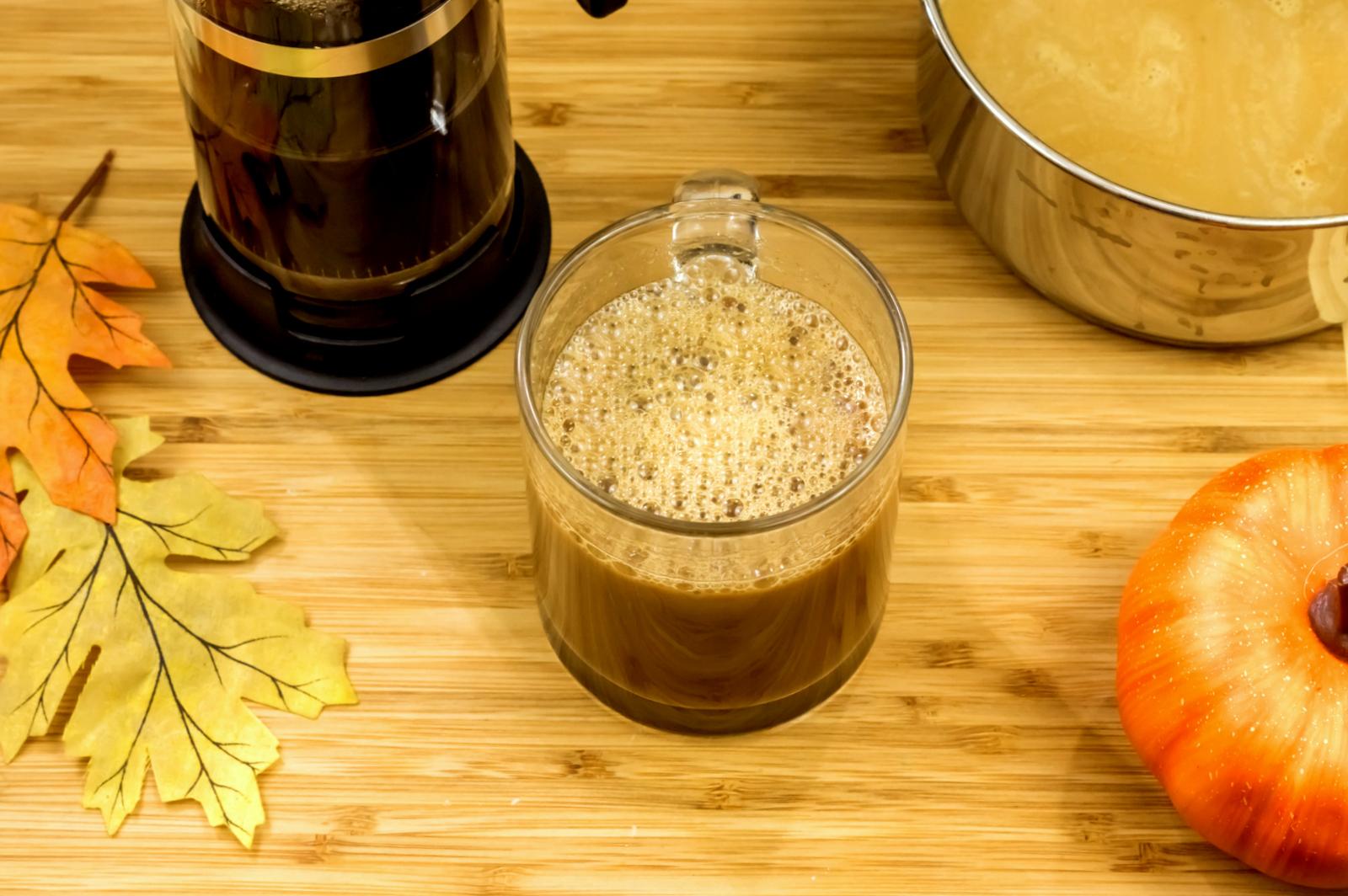 Paleo Pumpkin Spice creamer