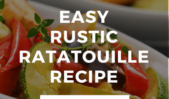 Quick & Easy Rustic Ratatouille Recipe