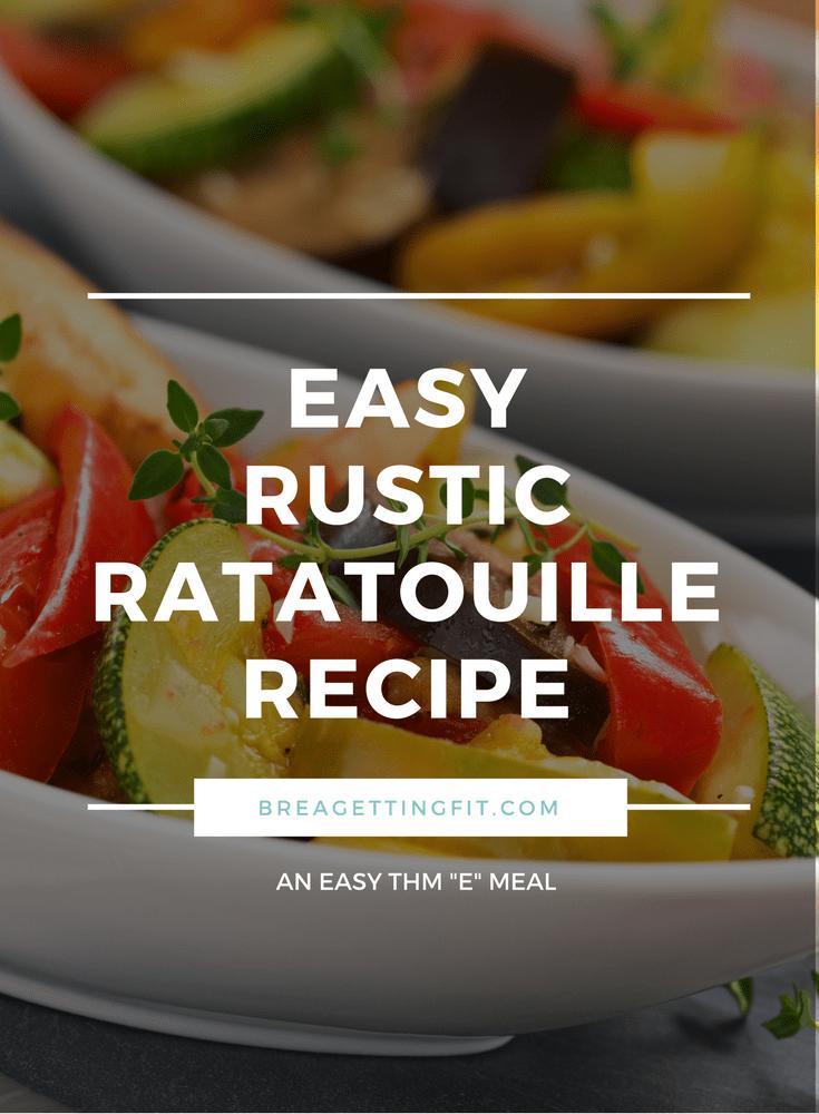 Rustic Ratatouille Recipe