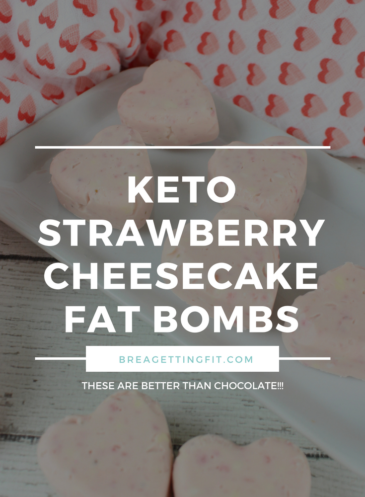 Low Carb Strawberry Cheesecake Fat Bombs Recipe