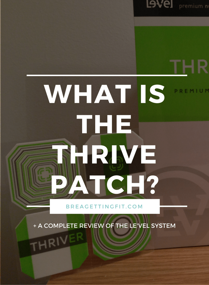 What The Heck Is The Deal With The Thrive Patch