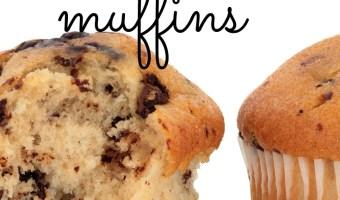 Mini Carob Chip Muffins