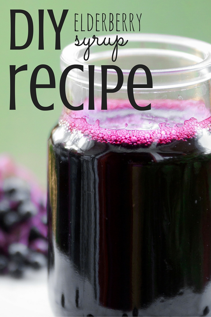 Do you make our own elderberry syrup? You should!
