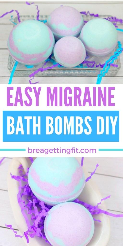 migraine bath bombs