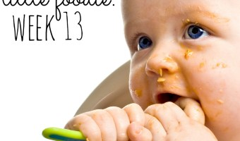 Mommy's Little Foodie: Week 13, He's Constipated, So It's Back On The Boob