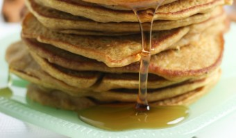 Easy Gluten Free Pumpkin Pancakes