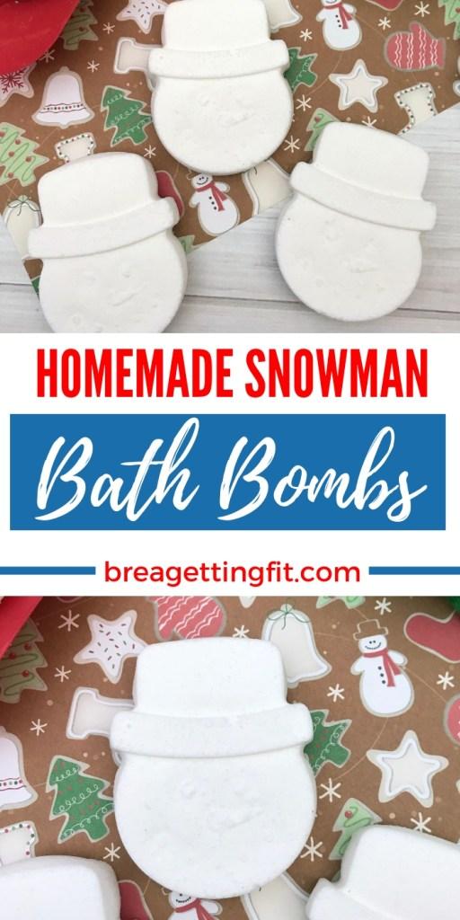 snowman bath bombs